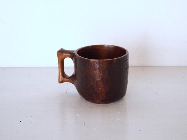 山桜真鍮鎹マグカップの画像1枚目