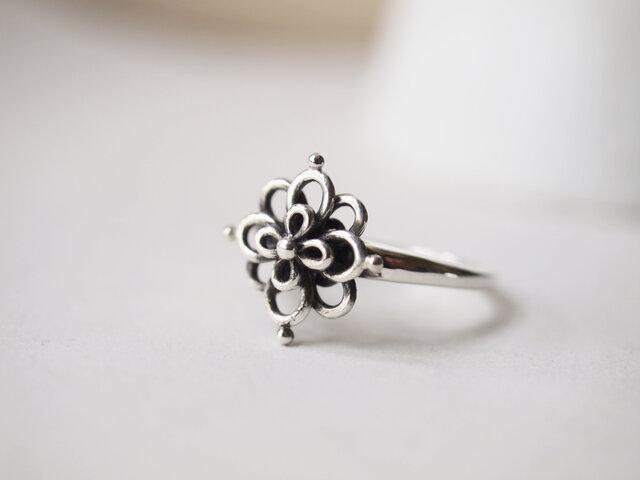 花結びのリングの画像1枚目