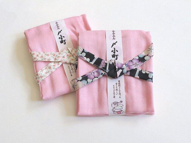 ガーゼのふんどし【ふふふん〆小町】ピンクの画像1枚目