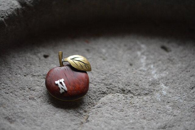 apple broochの画像1枚目