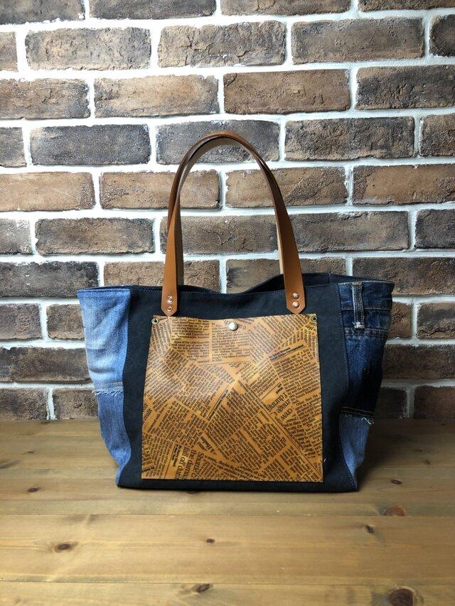宅急便送料無料☆army duc square tote bag Mplus NDLの画像1枚目