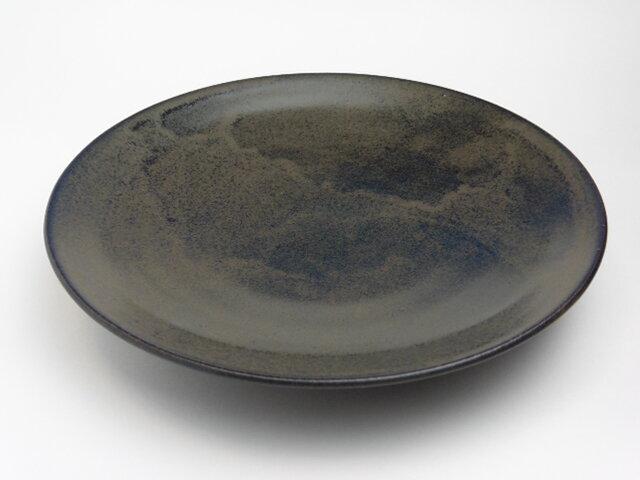鉄釉 フライパン餃子皿 28cm用の画像1枚目