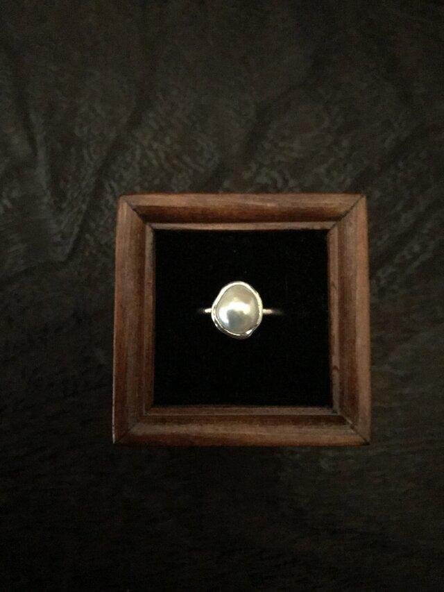 淡水パールのリング(petit)の画像1枚目