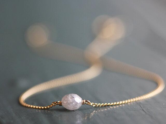 K18 バルーンダイヤモンド・ブレスレットの画像1枚目
