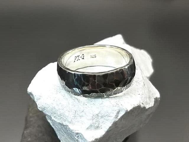 燻しリング Silver925の画像1枚目