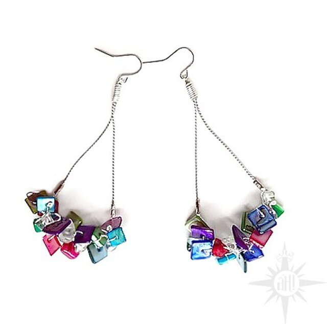 candy color  earringの画像1枚目