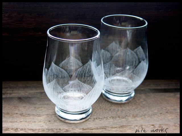 ミニグラス--蓮花の画像1枚目