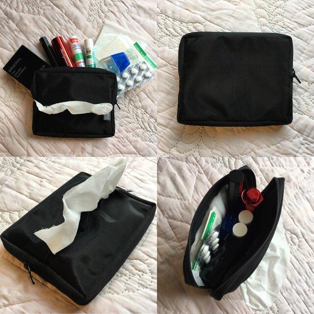 【2way】 Bagを選ばないお出かけ相棒ポーチ*小物アイテム整理携帯/出先のお化粧直しに人気好評!《選べる2タイプ/送料無料》の画像1枚目