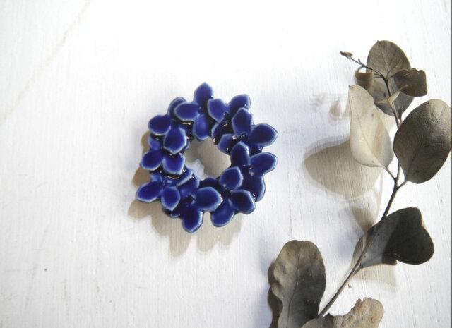 花のbroach 〈ニチニチソウ〉の画像1枚目