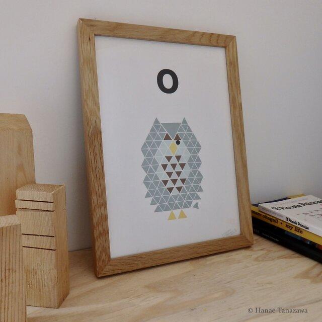 O for Owl A4サイズポスターの画像1枚目