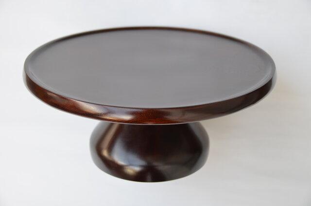 拭き漆欅酒卓の画像1枚目