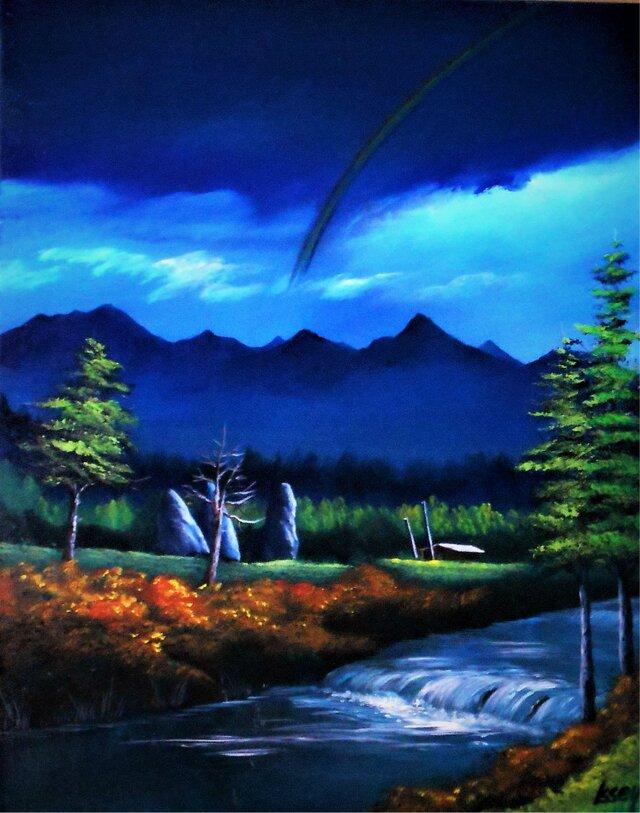 暗雲の虹の画像1枚目