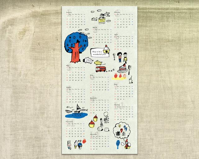 2019カレンダー*年賀状(5枚セット)の画像1枚目