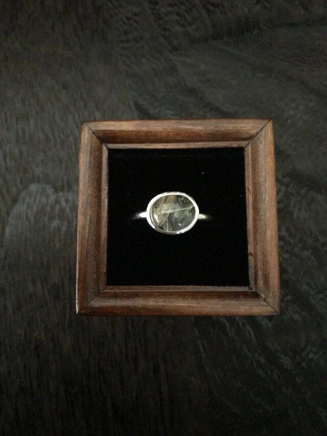 針水晶のリングの画像1枚目