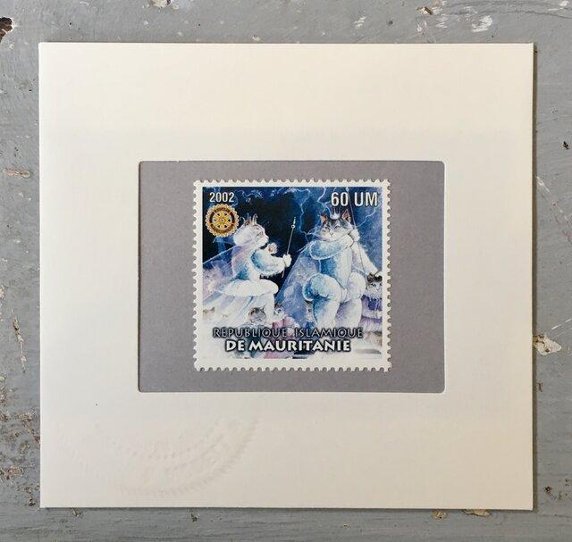ちいさなartmuseum Mauritania stampの画像1枚目