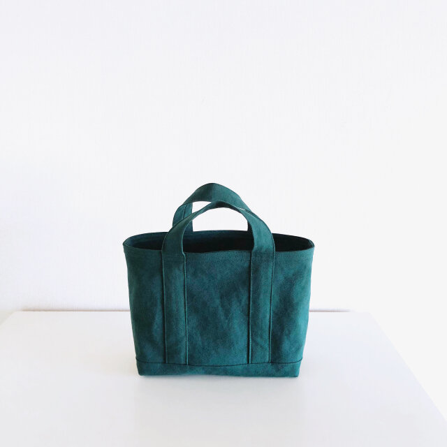 TOTE BAG (M) / darkgreenの画像1枚目