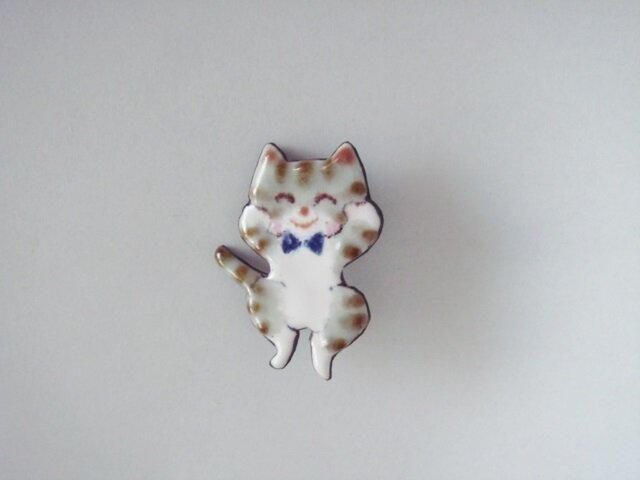 七宝 縞猫 嬉しくてジャンプの画像1枚目
