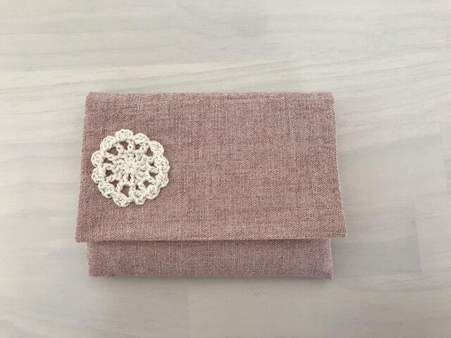 ポケットティッシュケース*ピンクの画像1枚目
