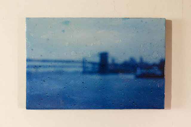 The Rain, New York, Brooklyn Bridgeの画像1枚目
