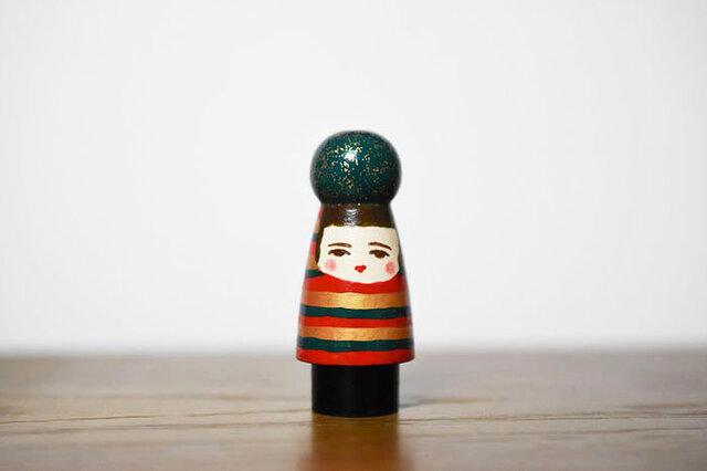 球体者(クリスマスver横縞服)の画像1枚目