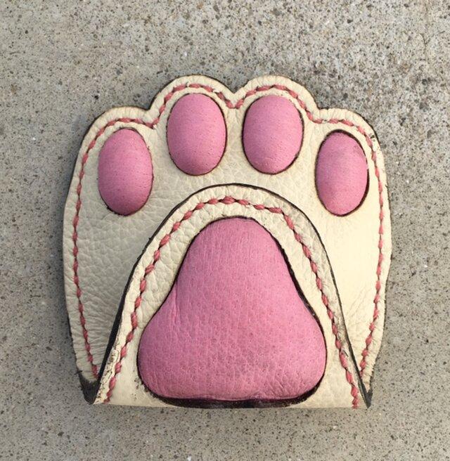 猫の肉球プニプニ!コインケース♪の画像1枚目
