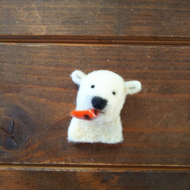 【再販】スティーブに焼鮭取られたブローチの画像1枚目
