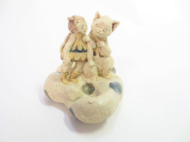 ネコと天使 -シロ-の画像1枚目