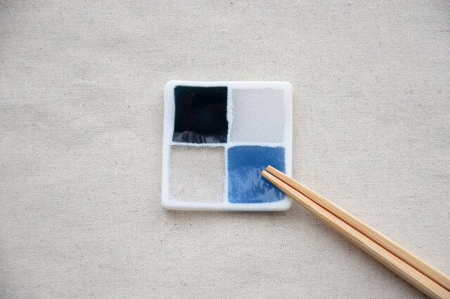 モザイクガラスの豆々皿の画像1枚目