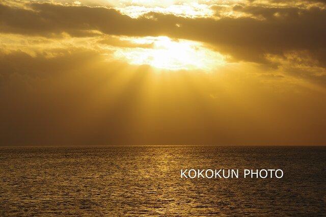 有明海の薄明光線2「ポストカード5枚セット」の画像1枚目