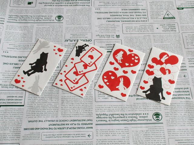 選べるポチ袋10枚(アリス/ホワイト)の画像1枚目
