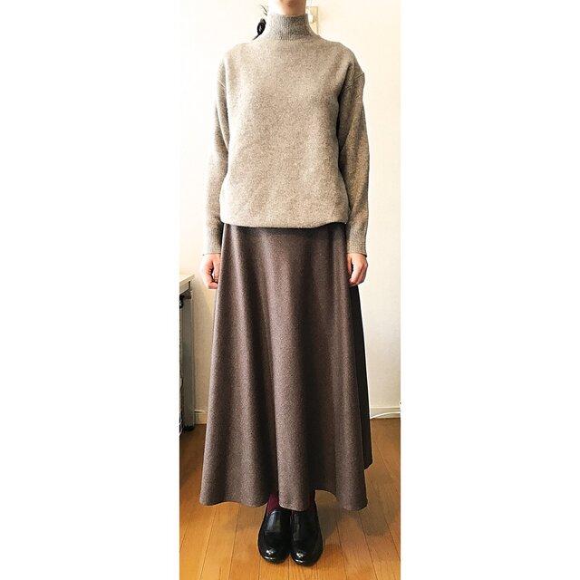 フレアーロングスカートの画像1枚目