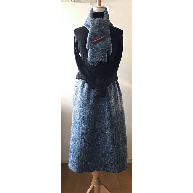 A様専用注文欄 ストール付きAラインスカートの画像1枚目