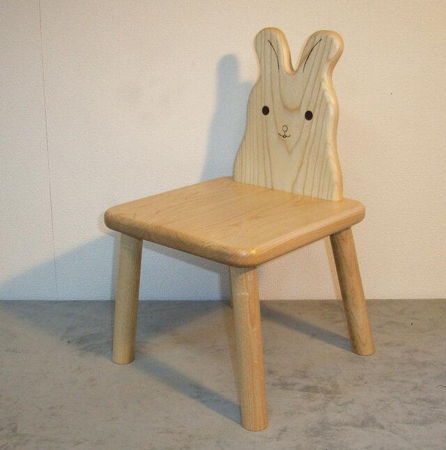 ウサギ椅子の画像1枚目