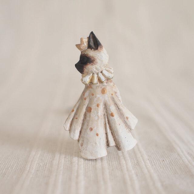 受注制作 ブローチ いつかの王子様 シャム猫(ボックス付き)の画像1枚目