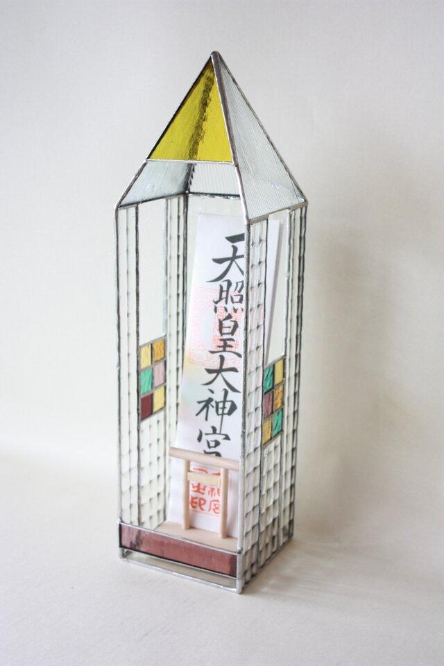 ステンドグラス神棚の画像1枚目