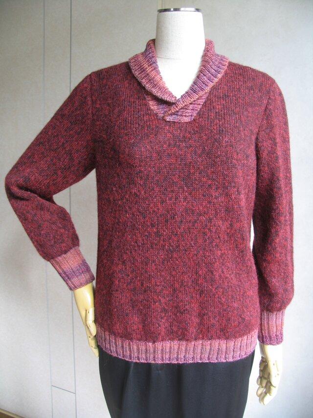 ふんわりモヘアのセーターの画像1枚目