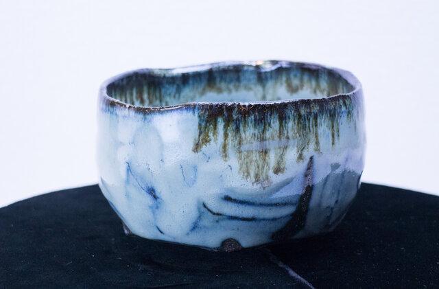 碧雪窯変 優雅な抹茶碗 1812-3の画像1枚目