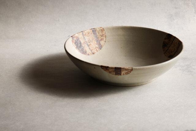 白釉尺大鉢の画像1枚目