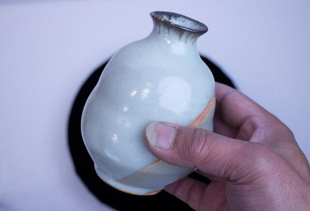 淡碧窯変 少し大きめの徳利 1812-2の画像1枚目