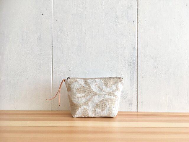 ゴブラン織りのポーチの画像1枚目
