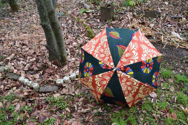 f150-アフリカ布日傘の画像1枚目