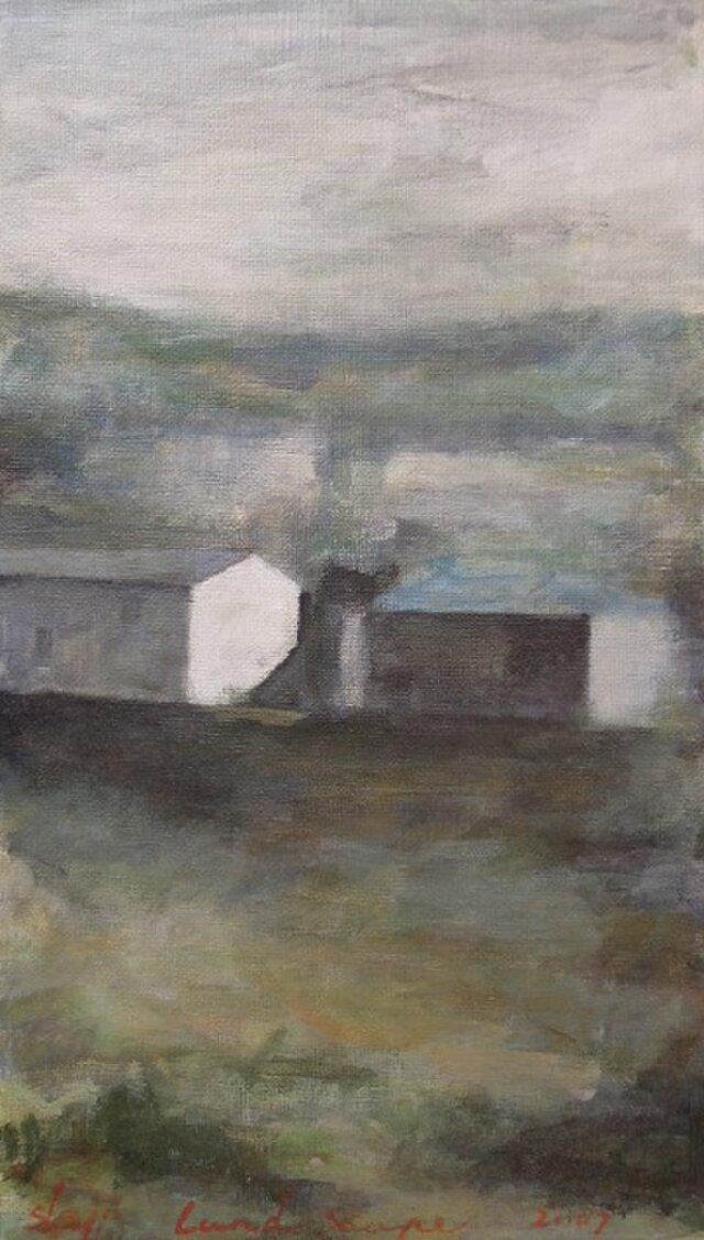 丘の上の2つの家の画像1枚目