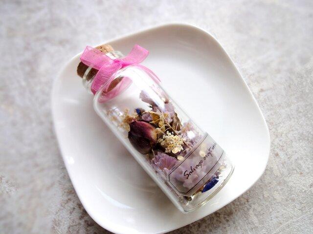 the Little Garden ■ ギフトボックス入り ■すみれ色のミニバラの庭の画像1枚目