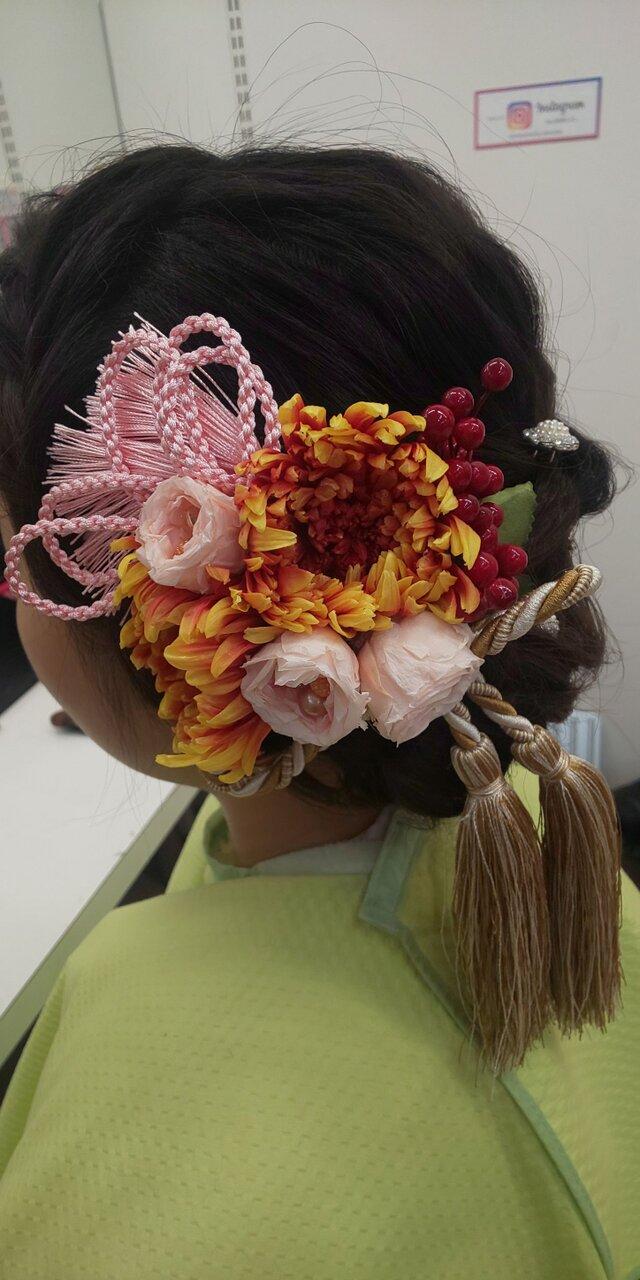 髪飾り 雅の画像1枚目