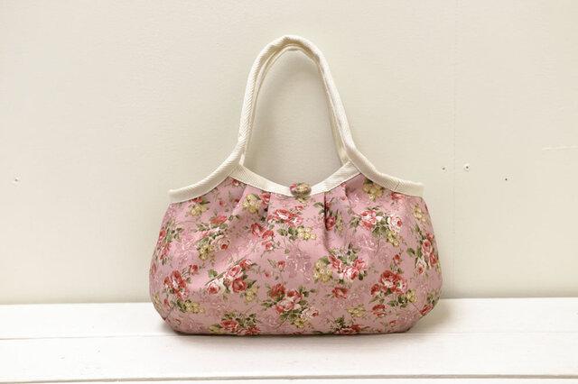小さめグラニーバッグ「Lungi Pink」の画像1枚目