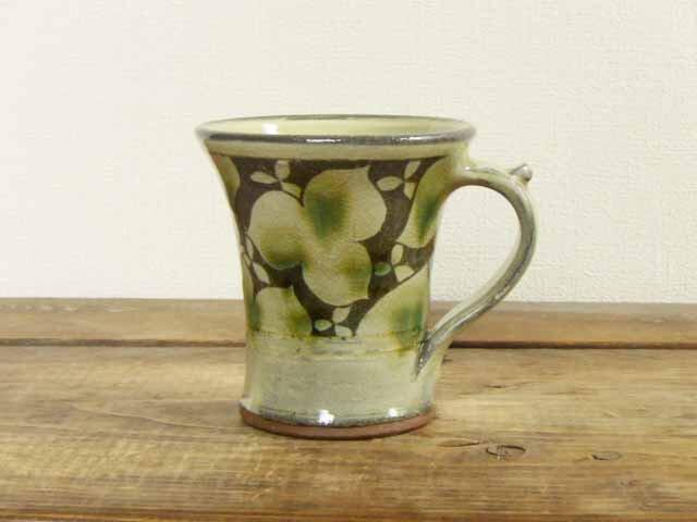 エンレイソウの二彩マグカップの画像1枚目