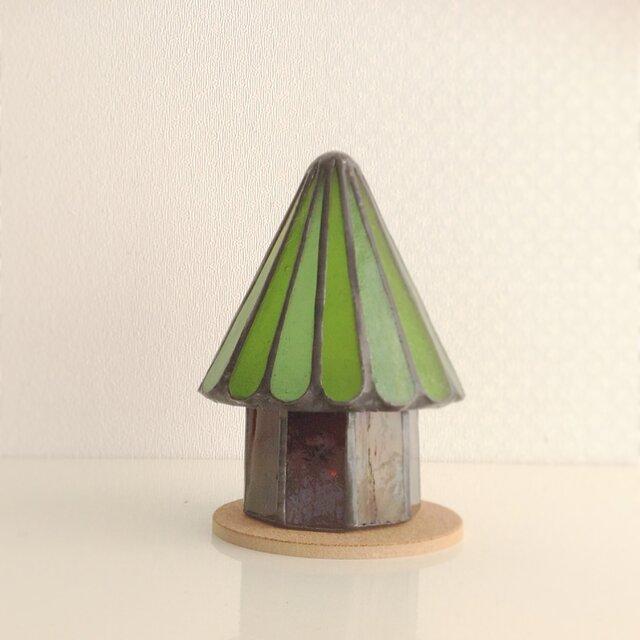 木のランプ  サイズ(小)の画像1枚目