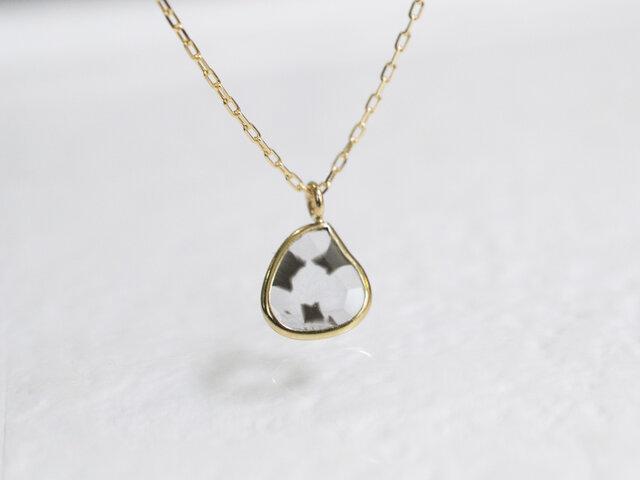 スライスダイヤモンドネックレス(No.1283)の画像1枚目
