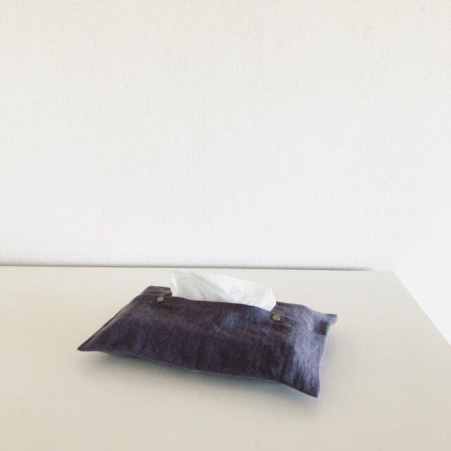 Tissueboxcover / lavenderの画像1枚目