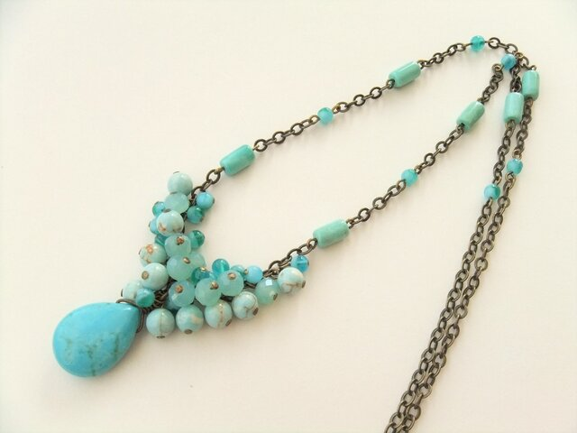 Necklace ターコイズ(N1178)の画像1枚目